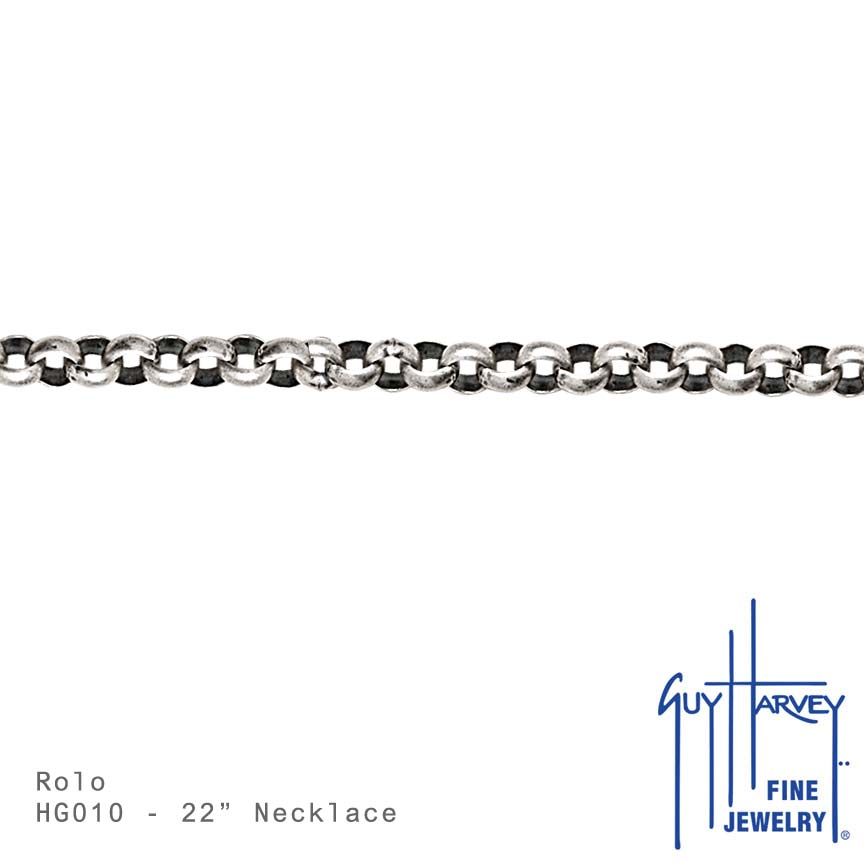 Large Rounded Rolo Chain