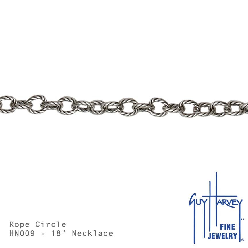 Large Rope Circle Chain