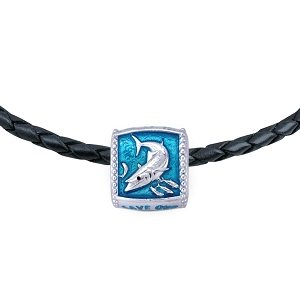 Guy Harvey  Enameled King Mackerel Trophy Slide Necklace