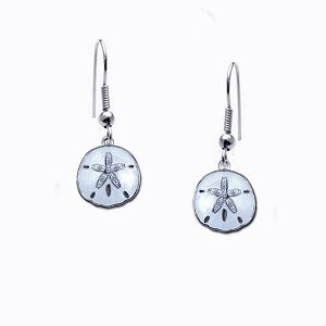 Guy Harvey Petite Sand Dollar Earrings